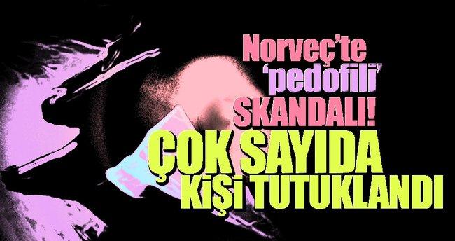 Norveç'te pedofili skandalı: 51 tutuklama!