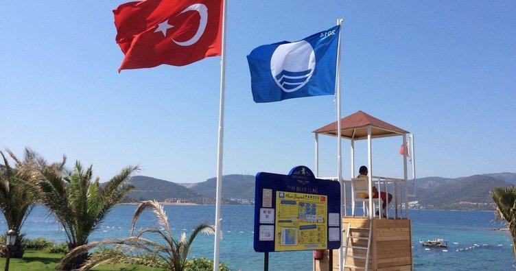 Türkiye mavi bayraklı plajda dünya üçüncüsü