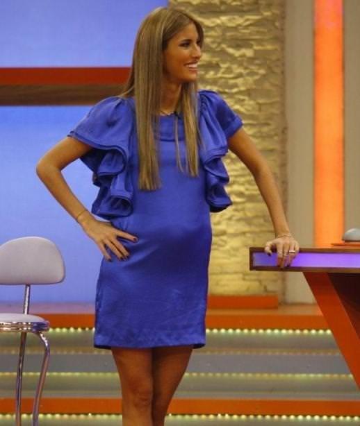 6 aylık hamile hali görenleri şoke etti