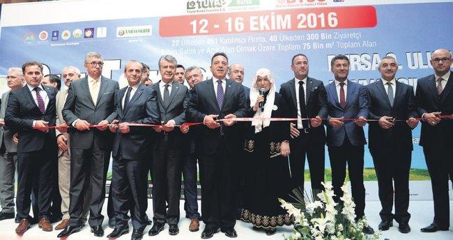 Hayvancılık ve tarımın kalbi Bursa'da attı