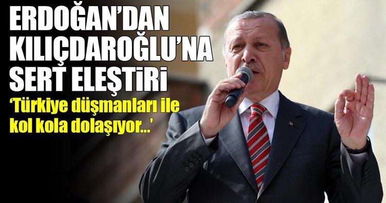 Cumhurbaşkanı Erdoğan'dan Kılıçdaroğlu'na sert eleştiri!