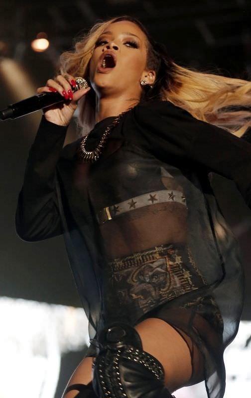 İstanbul'da Rihanna rüzgarı