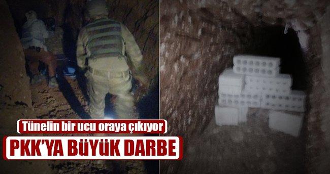 Nusaybin'de Suriye'ye açılan tünel bulundu