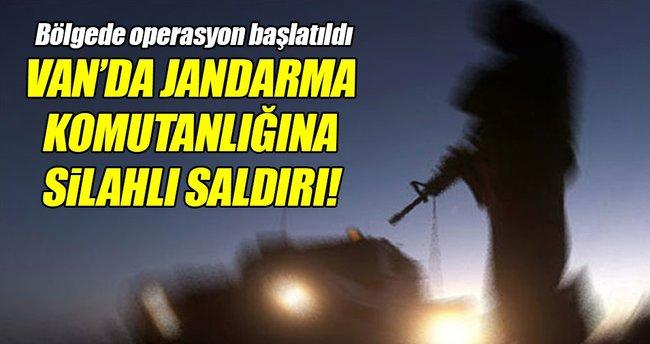 Van'da İlçe Jandarma Komutanlığı'na silahlı saldırı!
