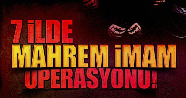 Kars'ta FETÖ'nün 18 mahrem imamına operasyon
