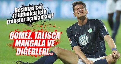 Fikret Orman'dan 11 futbolcu için transfer açıklaması!