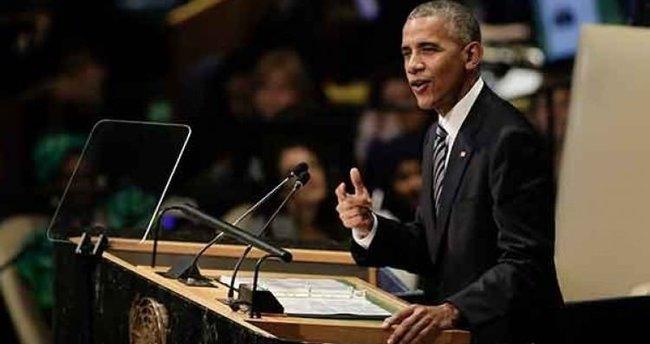 Obama İsrail'e 'işgalci' dedi