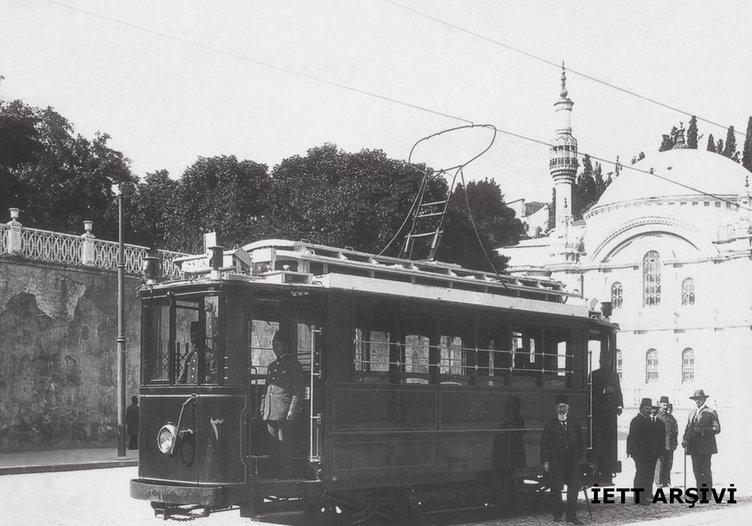 Nostaljik tramvay 101'inci doğum gününü kutladı