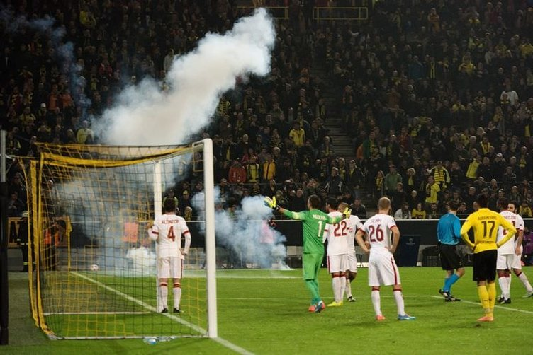 Borussia Dortmund - Galatasaray maçının fotoğrafları