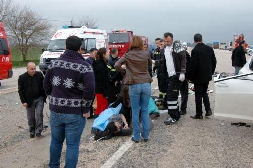 Adana'da feci kaza