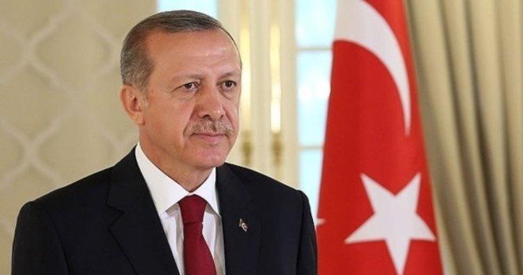Cumhurbaşkanı Erdoğan'dan Zerrin Güngör'e tebrik!
