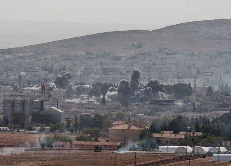 Türkiye sınırındaki patlamadan sıcak kareler