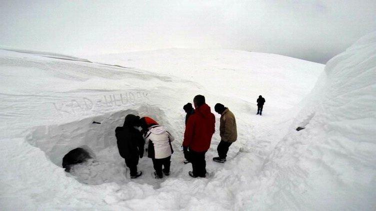 Tüm yurttan kar manzaraları