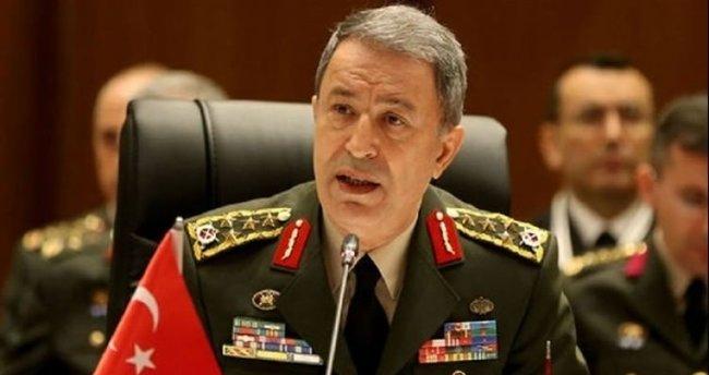 Akar NATO'da Fırat Kalkanı'nı anlattı