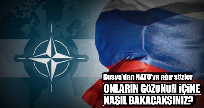 Rusya'dan NATO'ya ağır sözler