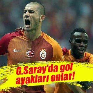 Galatasaray'ın gol umutları Eren ve Bruma