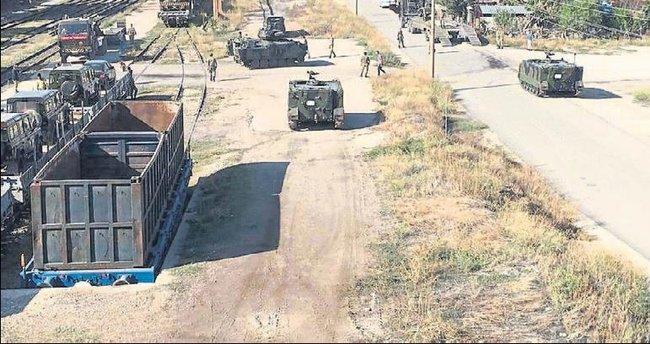 Zırhlı birlikler Burdur'da