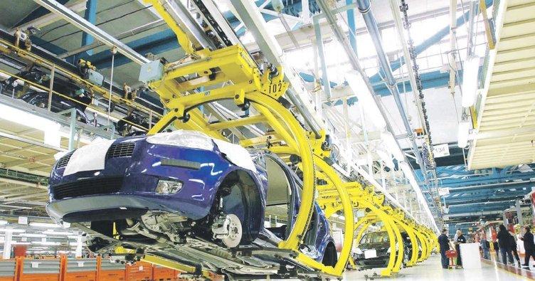 Otomotiv sektöründe üretim patlaması