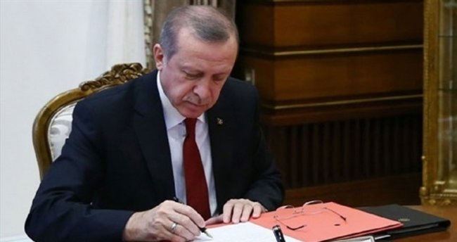 Cumhurbaşkanı Erdoğan'dan üç kanuna onay!