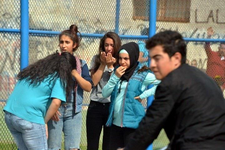 Okulda futbol maçı kanlı bitti