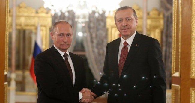 Erdoğan'ın Putin'den Suriye talebi