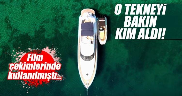 Kıvanç Tatlıtuğ 110 bin euroya tekne aldı