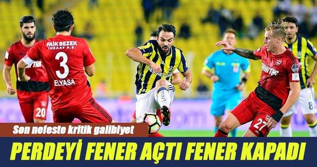 Fenerbahçe sahasında Gaziantepspor'u mağlup etti