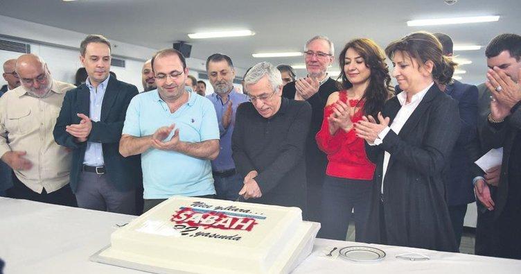 Sabah Gazetesi 32. yaşını kutladı