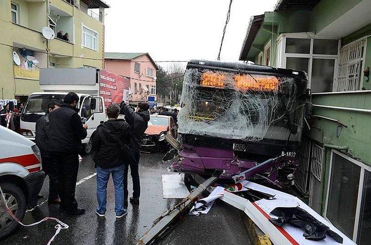 Sarıyer'deki otobüs kazası için karar çıktı