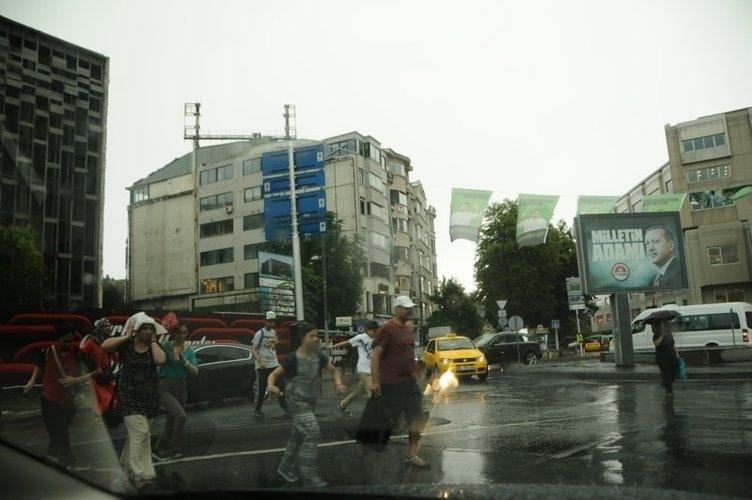 İstanbul böyle fırtına görmedi