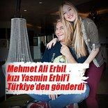 Mehmet Ali Erbil'den Yasmin Erbil önlemi