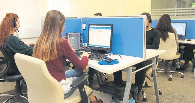 Gaziantep'te ALO 153 Çağrı Merkezi'ne tam not verildi