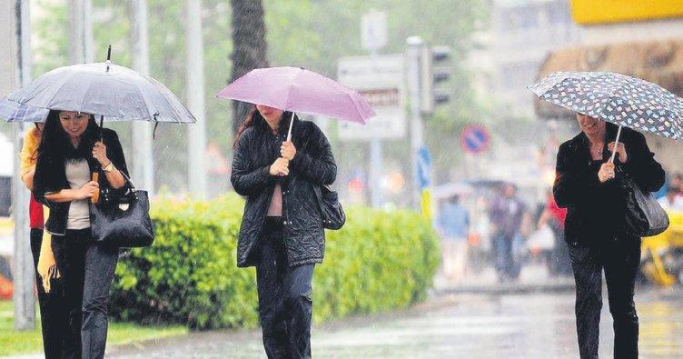 Sıcaktan bunalanlara yağmur müjdesi