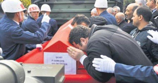 Çukurca şehidi Kayseri'de uğurlandı