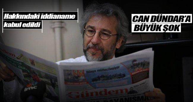 Can Dündar'a Nöbetçi Yayın Yönetmenliği Davası