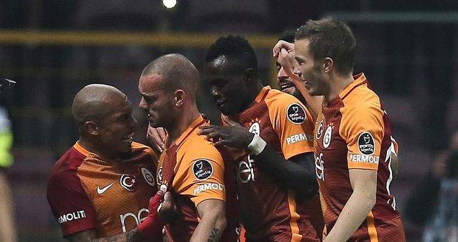 Galatasaray - Elazığspor maçı geniş özeti ve golleri