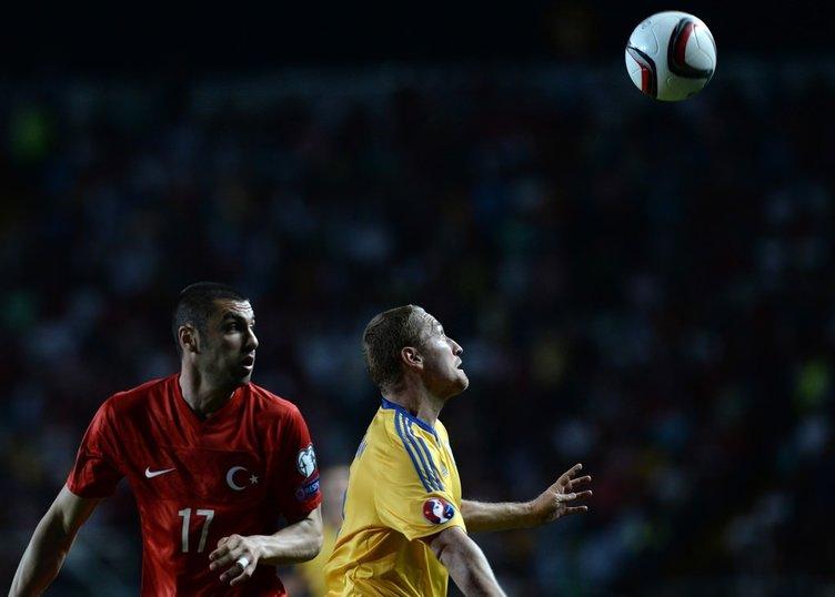 Kazakistan - Türkiye maçının fotoğrafları