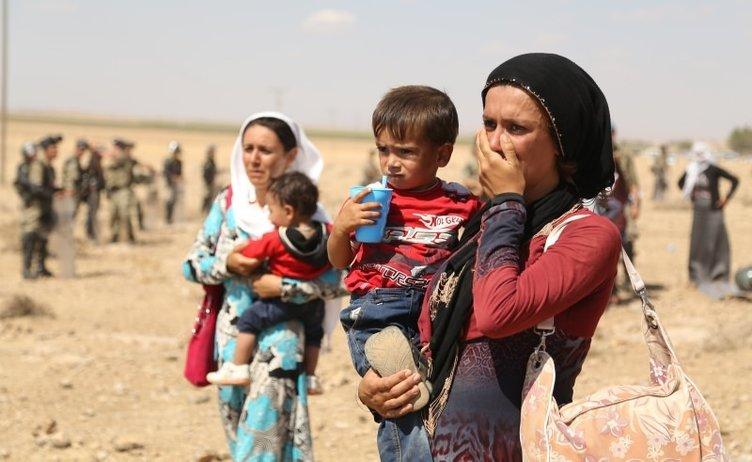 IŞİD'den kaçan Suriyeliler Türkiye'ye böyle sığındı