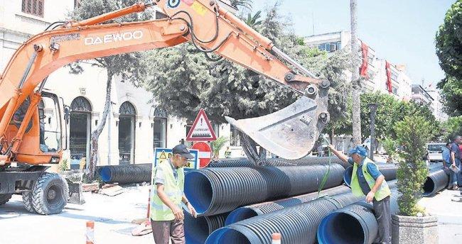 Mersin Büyükşehir Belediyesi'nin kentsel tasarım çalışmaları sürüyor
