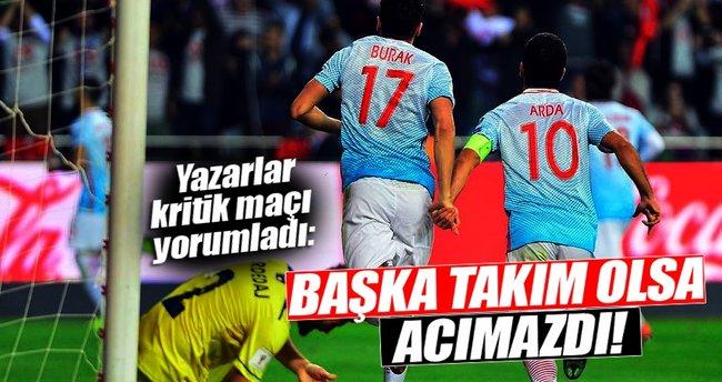 Yazarlar Türkiye - Kosova maçını yorumladı