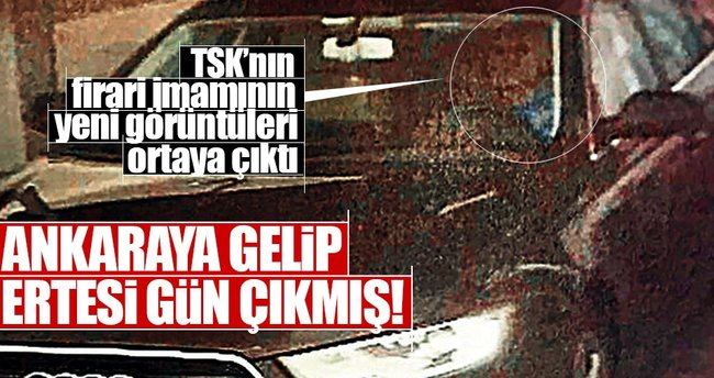 Adil Öksüz kendi arabasıyla Ankara'ya gitmiş