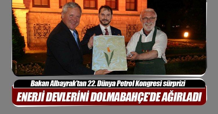Bakan Albayrak'tan 22. Dünya Petrol Kongresi katılımcılarına davet