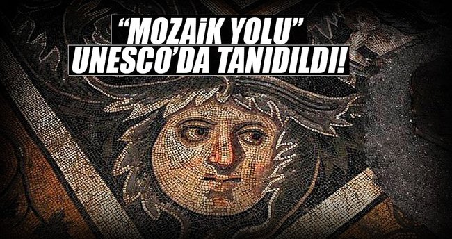 Mozaik Yolu UNESCO'da tanıtıldı