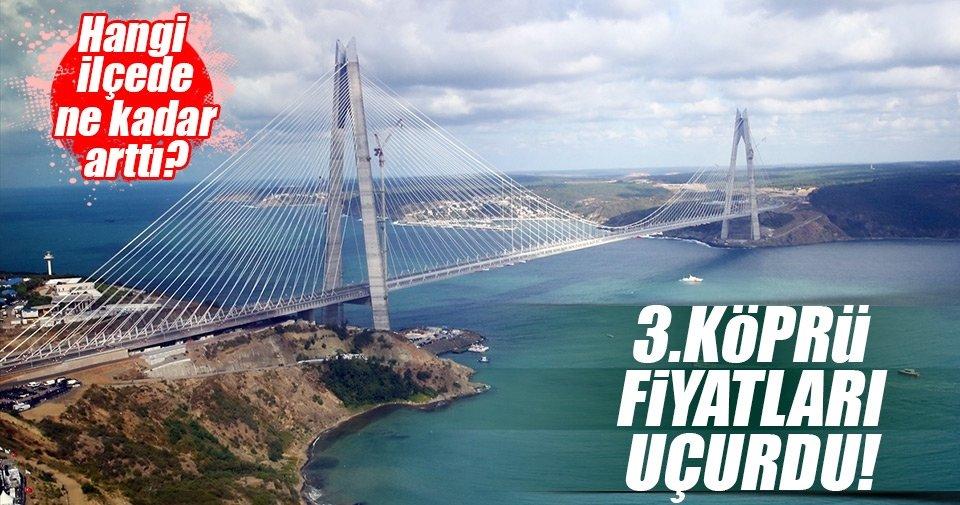 Yavuz Sultan Selim Köprüsü fiyatları uçurdu!