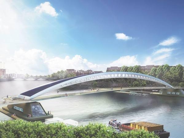 Londra'ya çılgın köprü!