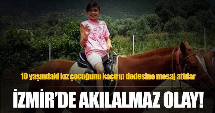 10 yaşındaki Ceylin, kaçırıldı