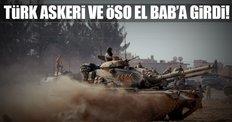 Türk askeri ve ÖSO El Bab'a girdi