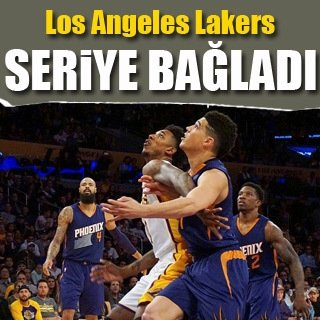 Lakers'tan art arda 3. galibiyet