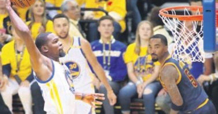 İlk maçta Durant'in dediği oldu