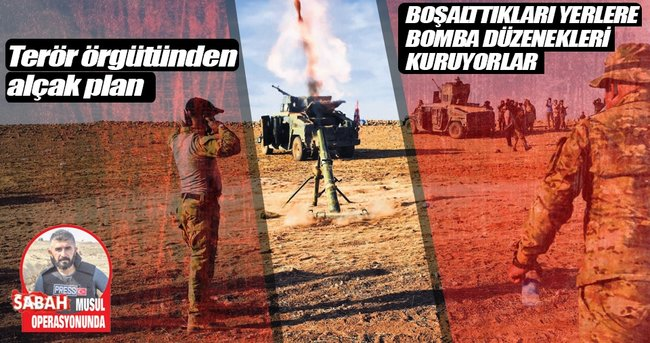 DEAŞ'TAN EVLERE BOMBALI TUZAK...